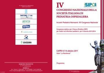 CAPRI 6-7-8 ottobre 2011 - Biomedia online
