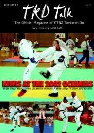 tkd talk Feb 2002 final.p65 - International Taekwon-Do