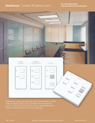 RadioTouch - Lutron Lighting Installation Specialists
