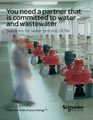 Solutions for water process OEMs - Square D
