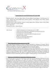 CR_ConseilLabo_2009 - EconomiX