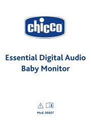 Essential Digital Audio Baby Monitor - Chicco