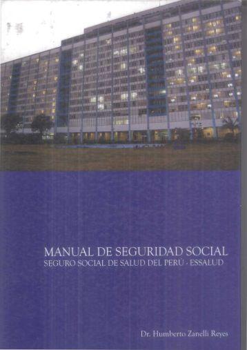 MANUAL DE SEGURIDAD SOCIAL - Bvs.minsa.gob.pe