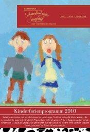 Kinderferienprogramm 2010_Programm.indd - Schmallenberger ...
