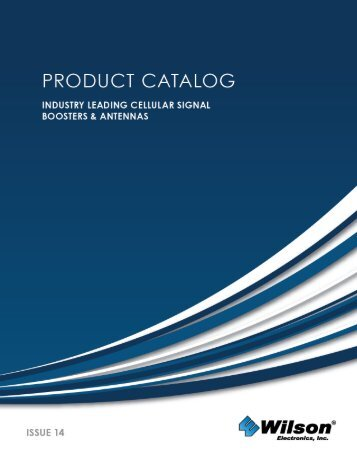 PRODUCT CATALOG - Wilson Electronics