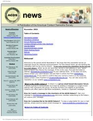 Download 05Fall_ACDS.pdf - American Contact Dermatitis Society