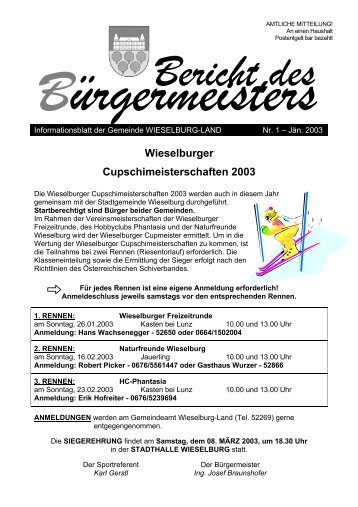 10 Free Magazines From Wieselburglandat