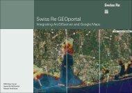 Swiss Re GEOportal - Esriuserforum.ch
