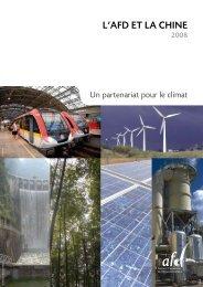 L'AFD Et LA ChInE - Agence Française de Développement