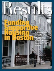 Results Magazine (PDF) - Federal Home Loan Bank of Boston