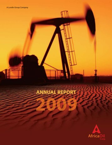 ANNUAL REPORT - Africa Oil Corp.