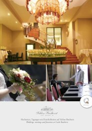 Download Bankettmappe (pdf) - Schloss Basthorst