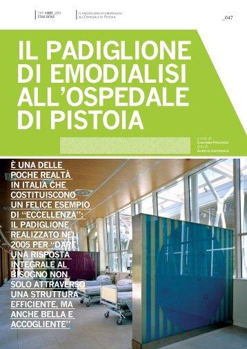 il padiglione di emodialisi all'ospedale di pistoia - TXTmagazine