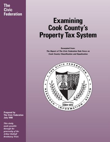 Examining Cook County's Property Tax System - The Civic Federation