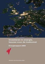 Investeren in energie, keuzes voor de toekomst - Gasunie