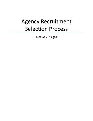 literature review on recruitment process