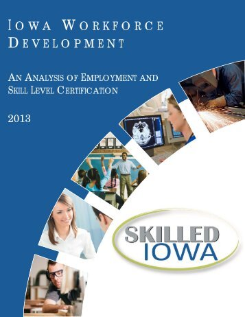 NCRC Report 2013 revised2.pub - Iowa Workforce Development ...