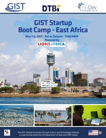 GIST Startup Boot Camp - East Africa - GIST Global Innovation ...