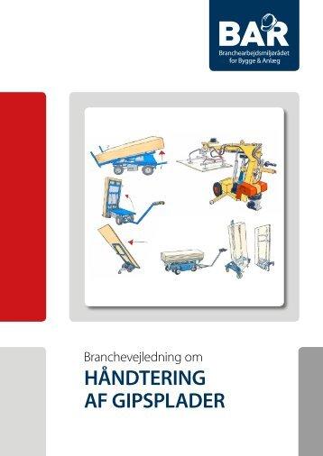 Hent Håndtering af gipsplader - print - BAR Bygge & Anlæg