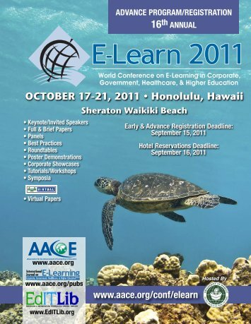 OCTOBER 17-21, 2011 • Honolulu, Hawaii - Association for the ...