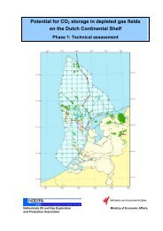 Potential for CO2 storage in depleted gas fields on ... - en Gasportaal