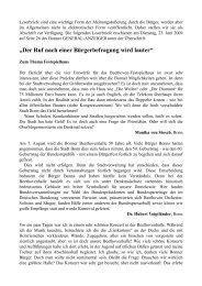 """""""Der Ruf nach einer Bürgerbefragung wird lauter""""."""