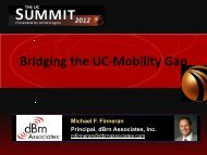 Bridging the UC Mobility Gap - UCStrategies.com
