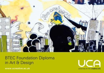 BTEC Foundation Diploma in Art & Design - University for the ...