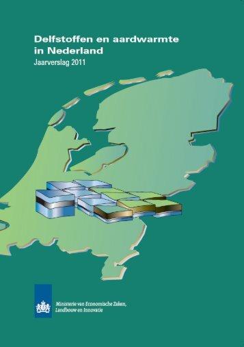 """Delfstoffen en aardwarmte in Nederland, Jaarverslag 2011"" PDF ..."