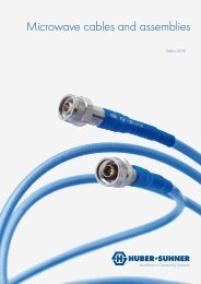 Microwave cables and assemblies - Nkt-rf.ru