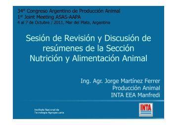 Jorge Martinez Ferrer - AAPA | Asociación Argentina de Producción ...