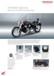 VTX1800 Options - Doble Motorcycles