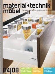 Effizient und flexibel Material+Technik Möbel ... - Kesseböhmer