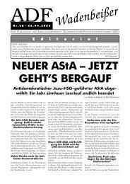 Wadenbeißer Nr. 38 vom 22.04.2002 [PDF] - ADF ...