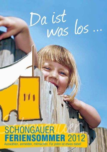 Viel Spaß beim Ferienprogramm - Schongau