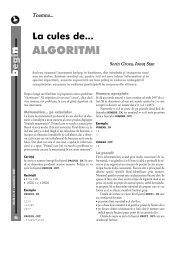 ALGORITMI - GInfo