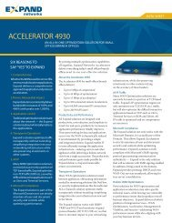 ACCELERATOR 4930 - Scunna Network Technologies