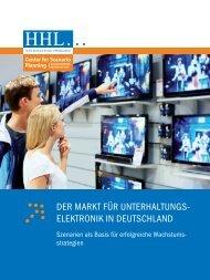 Der Markt für UnterhaltUngs- elektronik in DeUtschlanD