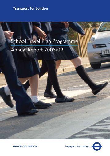 School Travel Plan Programme Annual Report 2008/09