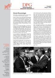 Info August 2004 - Deutsch-Polnische Gesellschaft eV