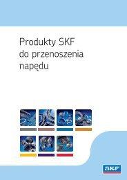Produkty SKF do przenoszenia napędu