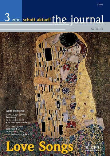 Love Songs - Schott Music