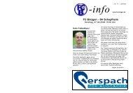 SV Schopfheim - FC Binzgen