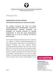Fachpressemitteilung Flächendeckende Beratung - Der ...