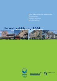 Umwelterklärung 2004 - Umweltmanagement Augsburg - Stadt ...