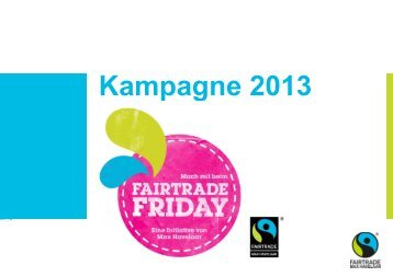 Fairtrade Friday - Max Havelaar Switzerland