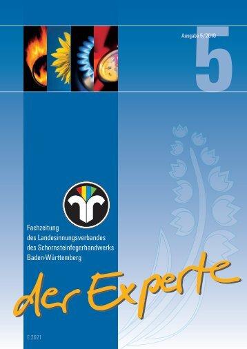 Fachzeitung des Landesinnungsverbandes - Der Schornsteinfeger
