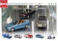 Busch - Automodelle Katalog 2010