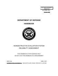 MIL HNDB 1823 - Center for Nondestructive Evaluation