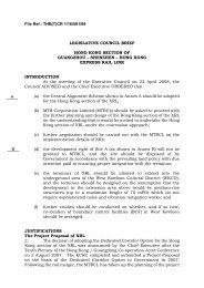 File Ref.: THB(T)CR 1/16/581/99 LEGISLATIVE COUNCIL BRIEF ...